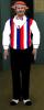 American Barbershop Singer - Black Pants